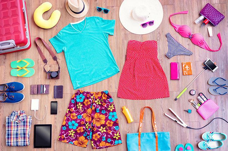 Сверьтесь с чек-листом нужных вещей для отпуска